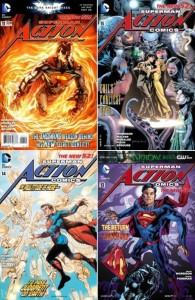 Action Comics collection (0-15 series)