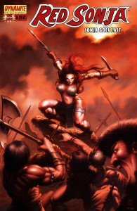 Red Sonja Goes East