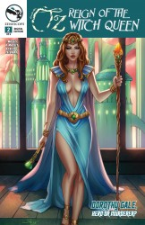 Grimm Fairy Tales Presents Oz Reign Of The Witch Queen #02
