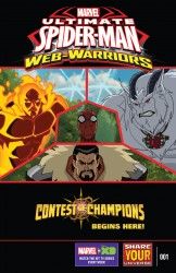 Marvel Universe Ultimate Spider-Man - Web-Warriors - Contest of Champions #1