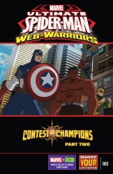 Marvel Universe Ultimate Spider-Man - Web-Warriors - Contest of Champions #2