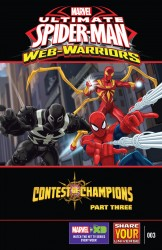 Marvel Universe Ultimate Spider-Man - Web-Warriors - Contest of Champions #3