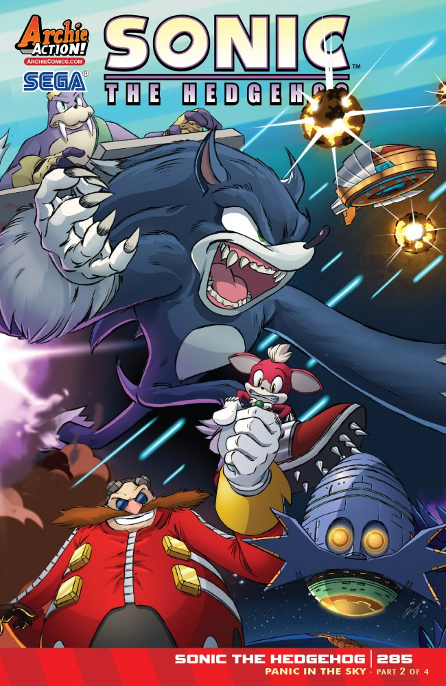 Sonic The Hedgehog 285 Download Comics For Free