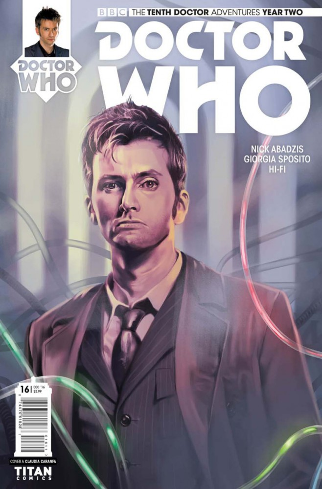 Doctor Who The Tenth Doctor Year Two #16