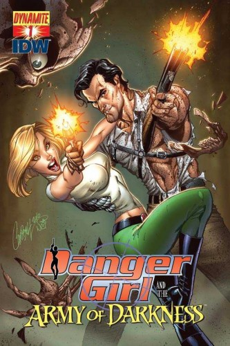 Danger girl and the army of darkness wallpaper and background.