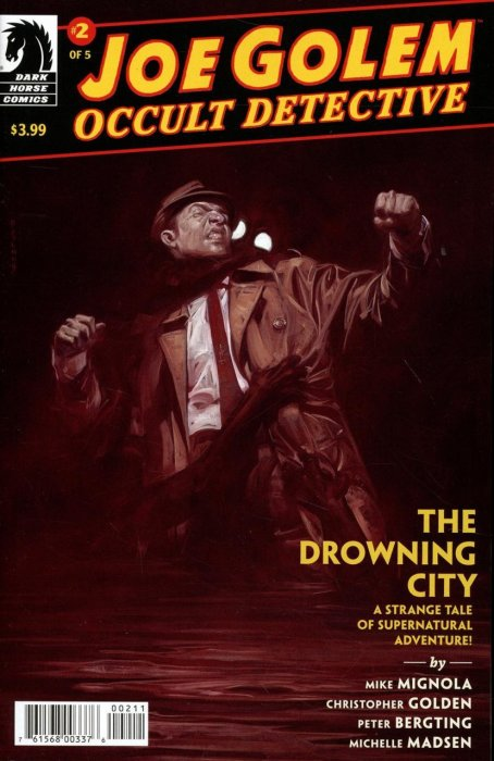 Joe Golem - Occult Detective--The Drowning City #2