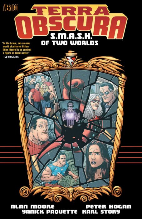 Terra Obscura - S.M.A.S.H. of Two Worlds #1 - TPB