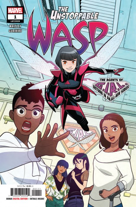 The Unstoppable Wasp #1