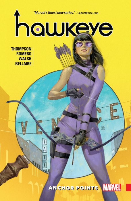 Hawkeye - Kate Bishop Vol.1 - Anchor Points