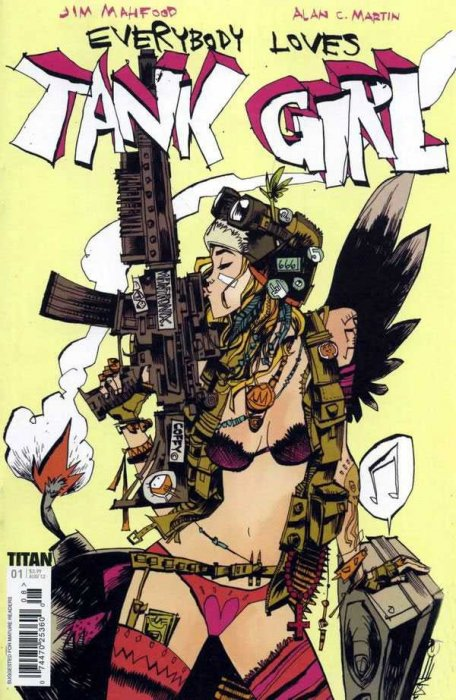 Tank Girl - Everybody Loves Tank Girl #1-3 Complete