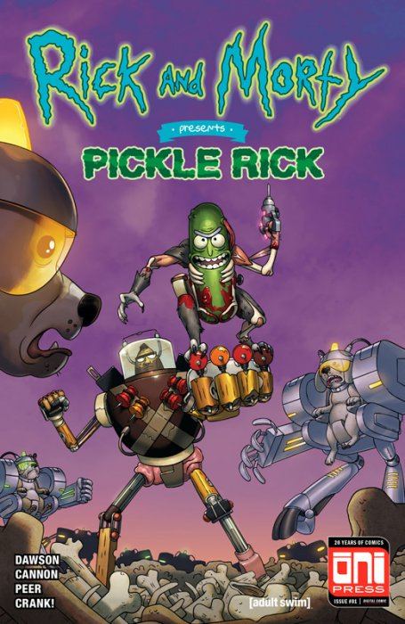 Rick and Morty Presents #4 - Pickle Rick