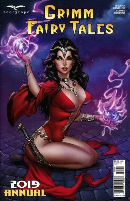 Grimm Fairy Tales - 2019 Annual #1