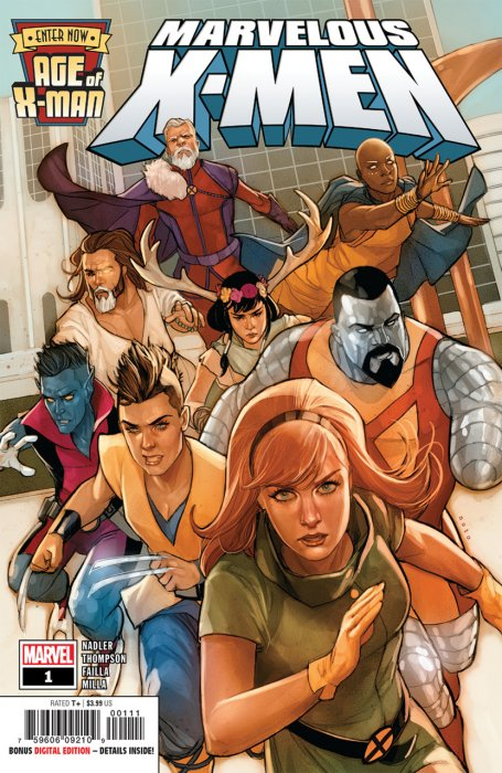 Age of X-Man - The Marvelous X-Men #1