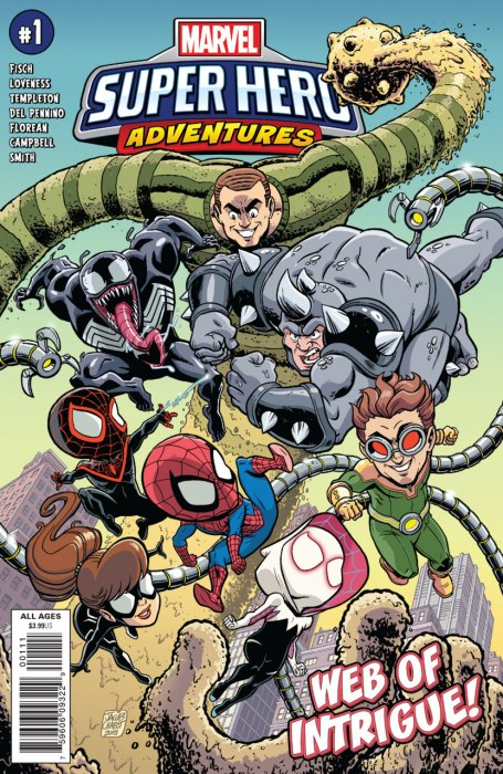 Marvel Super Hero Adventures - Spider-Man - Web of Intrigue #1