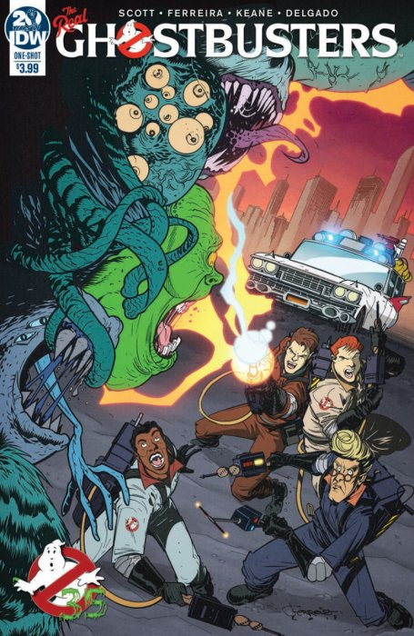 Ghostbusters 35th Anniversary - The Real Ghostbusters #1