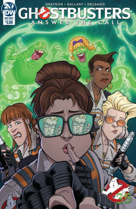 Answer the Call Ghostbusters 35th Anniversary #1