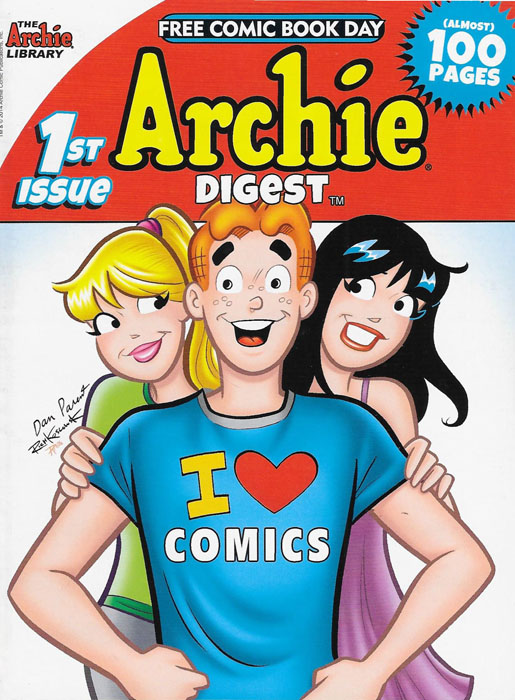 Archie Digest, Free Comic Book Day Edition #1