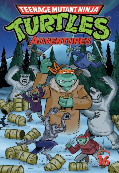 Teenage Mutant Ninja Turtles Adventures Vol.16