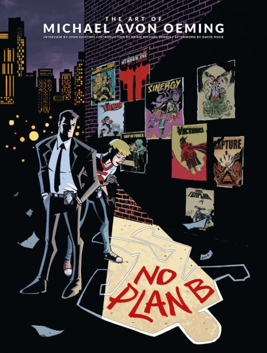 No Plan B - The Art of Michael Avon Oeming #1 - HC