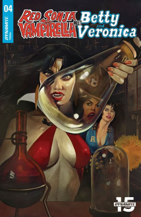 Red Sonja and Vampirella Meet Betty and Veronica #4
