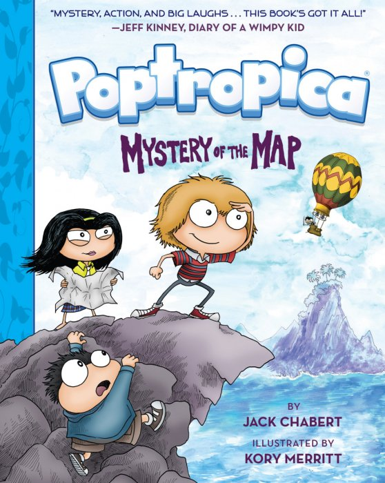 Poptropica #1 - Mystery of the Map