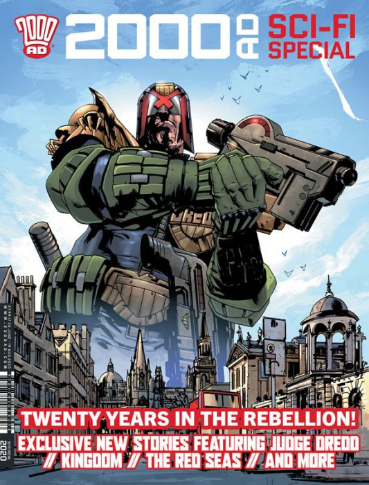 2000AD Sci-Fi Special 2020 #1