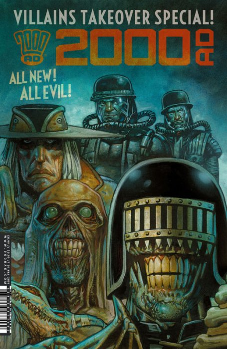 2000AD Villains Special #1