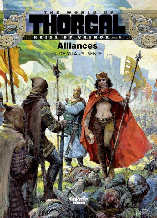 The World of Thorgal - Kriss of Valnor #4 - Alliances