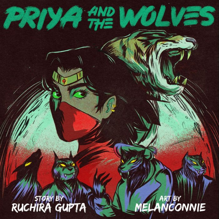 Priya and the Wolves #1