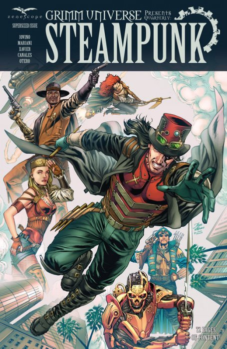 Grimm Universe Presents Quarterly - Steampunk #1