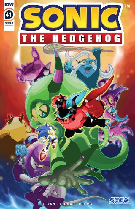 Sonic The Hedgehog #41